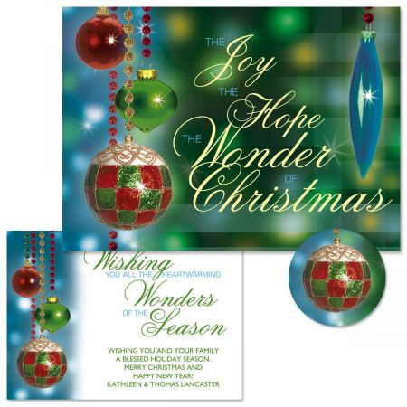 Palazzo Christmas Cards - Personalized