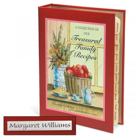 Family Recipes  Personalized Journal