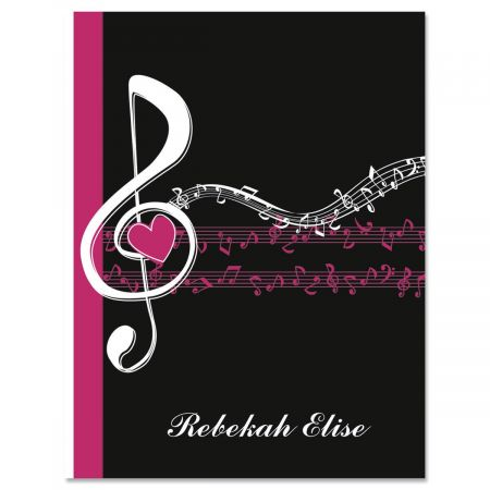 Heart and Song Custom Note Cards