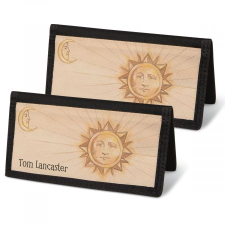 Sun and Moon Personal Checkbook Covers