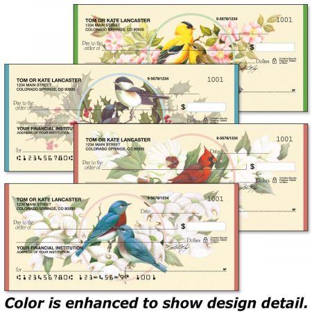 Birds & Blossoms Duplicate Checks