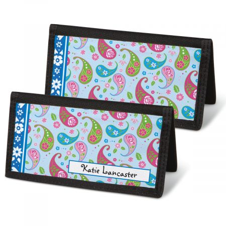 Pretty Posies Personal Checkbook Covers