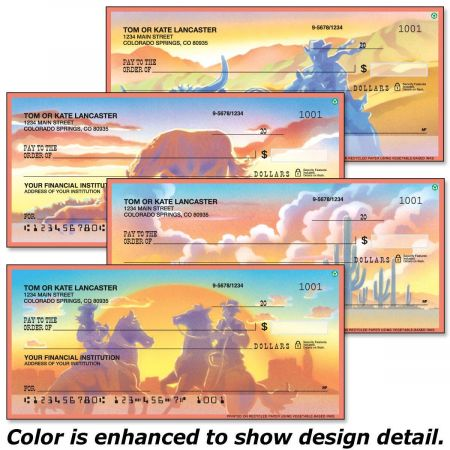 Western Country Personal Checks