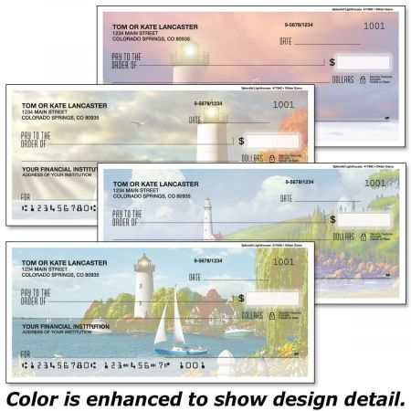 Splendid Lighthouses Personal Checks