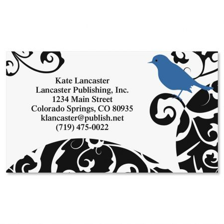 Distinctive Bird  Business Cards