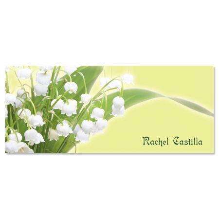Beauty in the Valley Personalized Slimline Note Cards