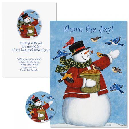 Share The Joy  Christmas Cards