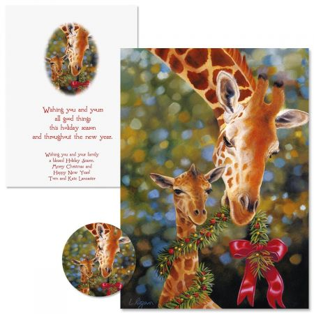 You and Yours Christmas Cards - Personalized