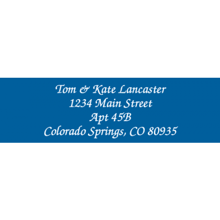 Solid Color Designer Rolled Address Labels - (Roll of 500)