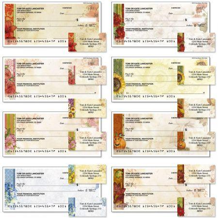 Every Season Single Checks with Matching Address Labels