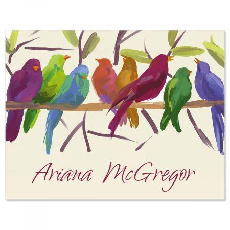 Flocked Together Note Cards - Set of 12
