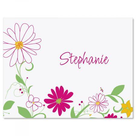 Fresh Breeze Custom Note Cards