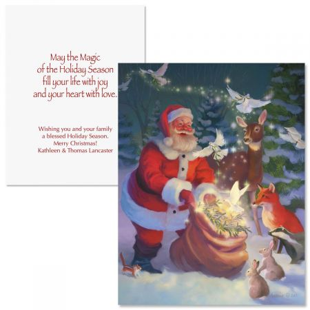 Christmas Peace Note Card Size Christmas Cards