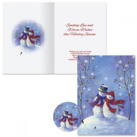 Snowy Snuggles Christmas Cards
