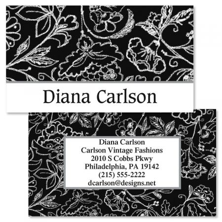 Blackboard Double-Sided  Business Cards