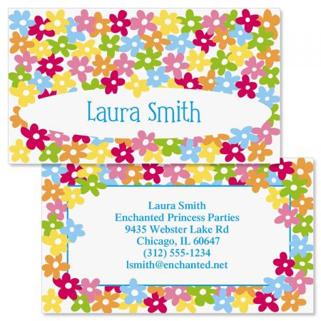 Mini Posies  Double-Sided Business Cards