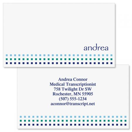 Mini Magic  Double-Sided Business Cards