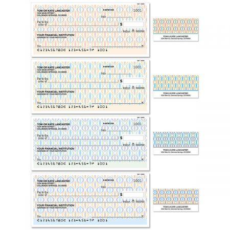 Ikat Single Checks With Matching Address Labels