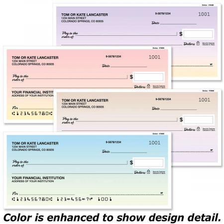 Ombre Personal Checks