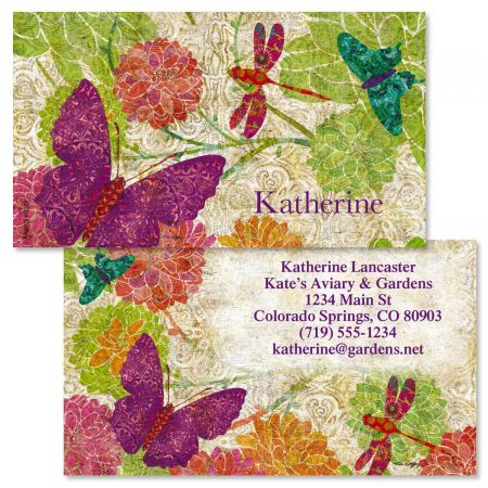 Colors of Nature Double-Sided  Business Cards