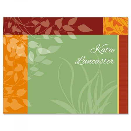 Relax Personalized Note Cards
