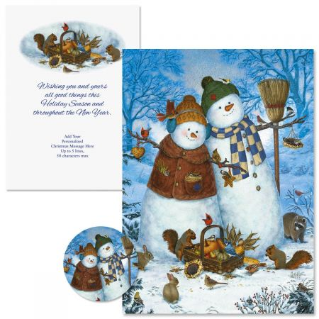 Family Christmas Cards -  Personalized