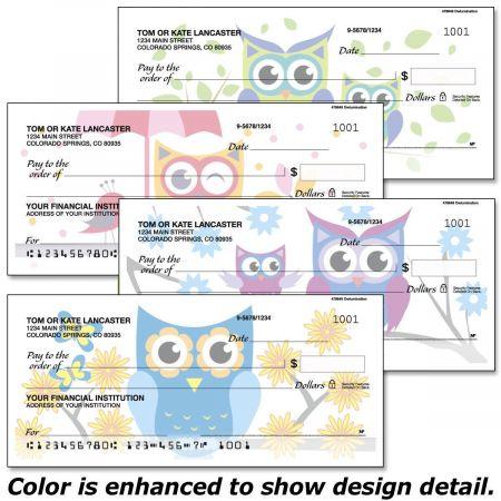 Owluminations Personal Checks