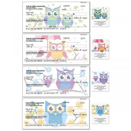 Owluminations Duplicate Checks with Matching Address Labels