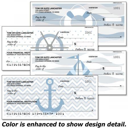 Nautical Chic Personal Checks