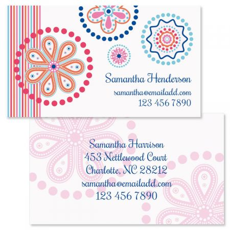 Fresh Melon Double-Sided Business Cards