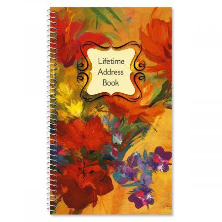 Spring Garden Lifetime Address Book