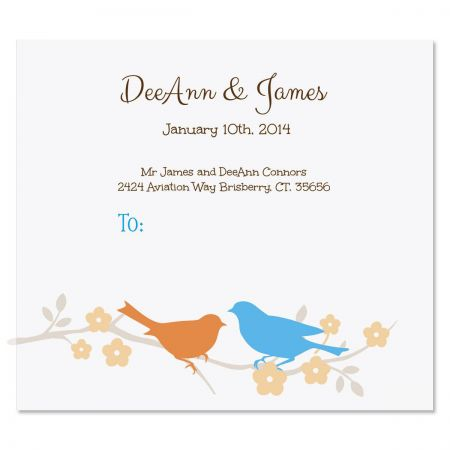 Love Birds Package Labels