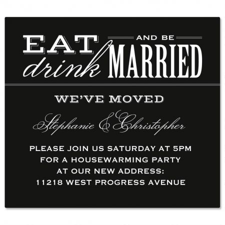 Eat, Drink, Be Married Canning Labels