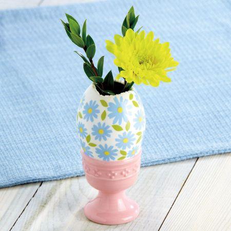 Cracked-Egg Posy Vase