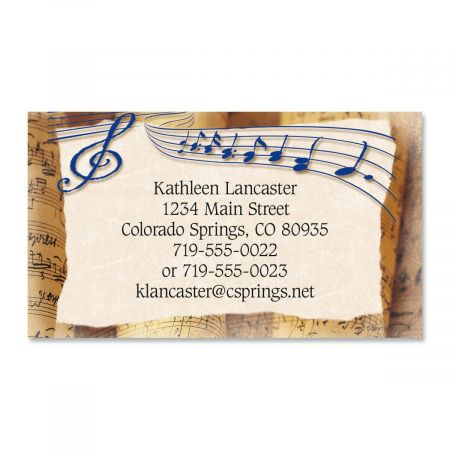 Allegro Business Cards