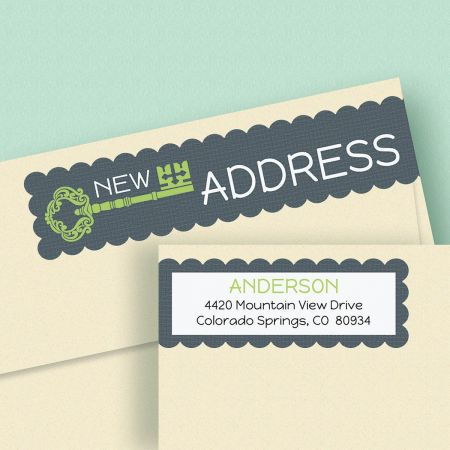New Pad Connect Wrap Diecut Address Labels