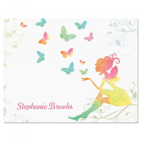 Fairy Personalized Note Cards