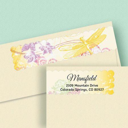 Seasons Connect Wrap Diecut Address Labels  (4 Designs)