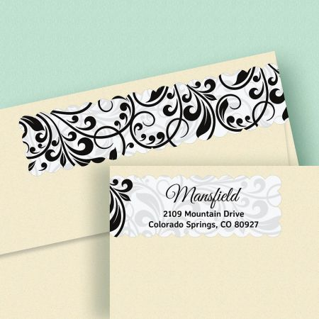 Refined Connect Wrap Diecut Address Labels