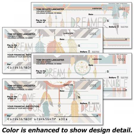 Dreamcatchers Personal Checks