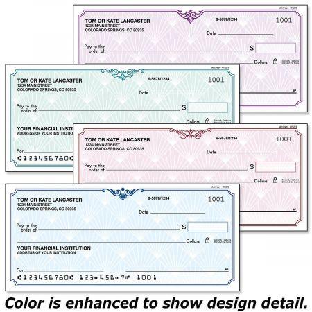Art Deco Personal Checks