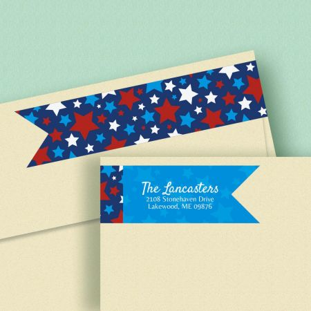 Allegiance  Connect Wrap Diecut Address Labels  (4 Designs)