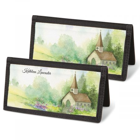Grace Personal Checkbook Covers