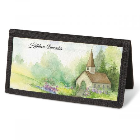 Grace Checkbook Cover - Personalized