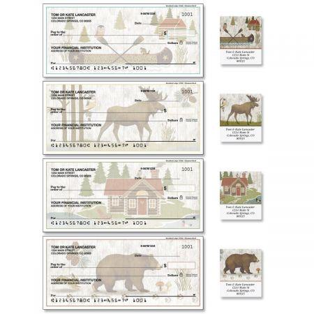 Woodland Lodge Duplicate Checks with Matching Address Labels