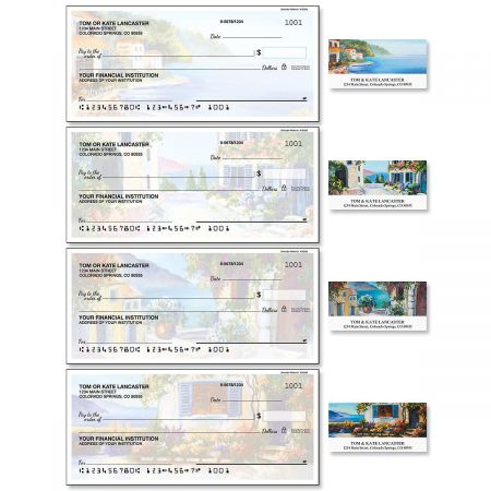 Seaside Retreat Duplicate Checks with Matching Address Labels