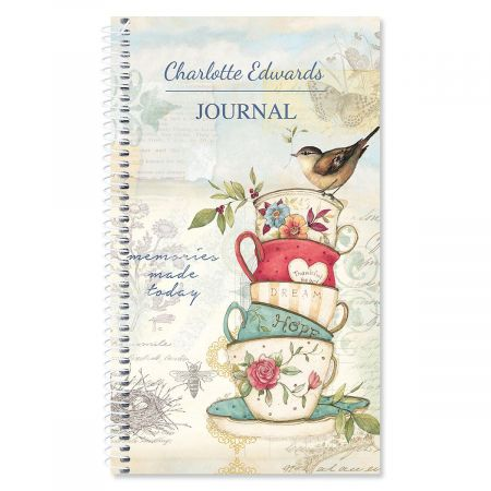 Teacup Personalized Daily Journal