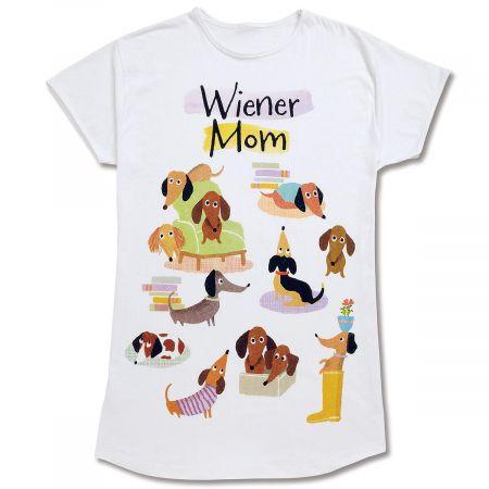 Wiener Mom Nightshirt