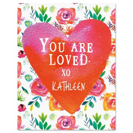 You Are Loved Custom Note Cards