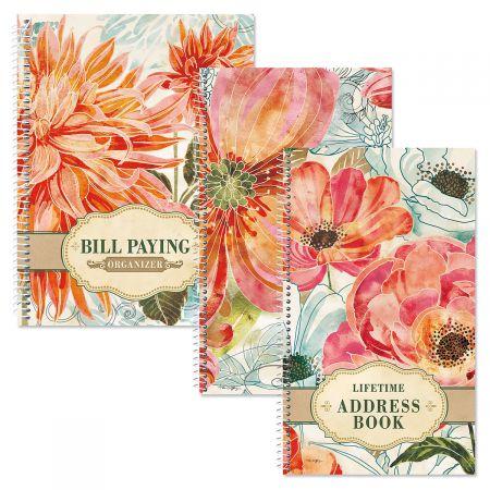 Floral Daydream Organizer Books